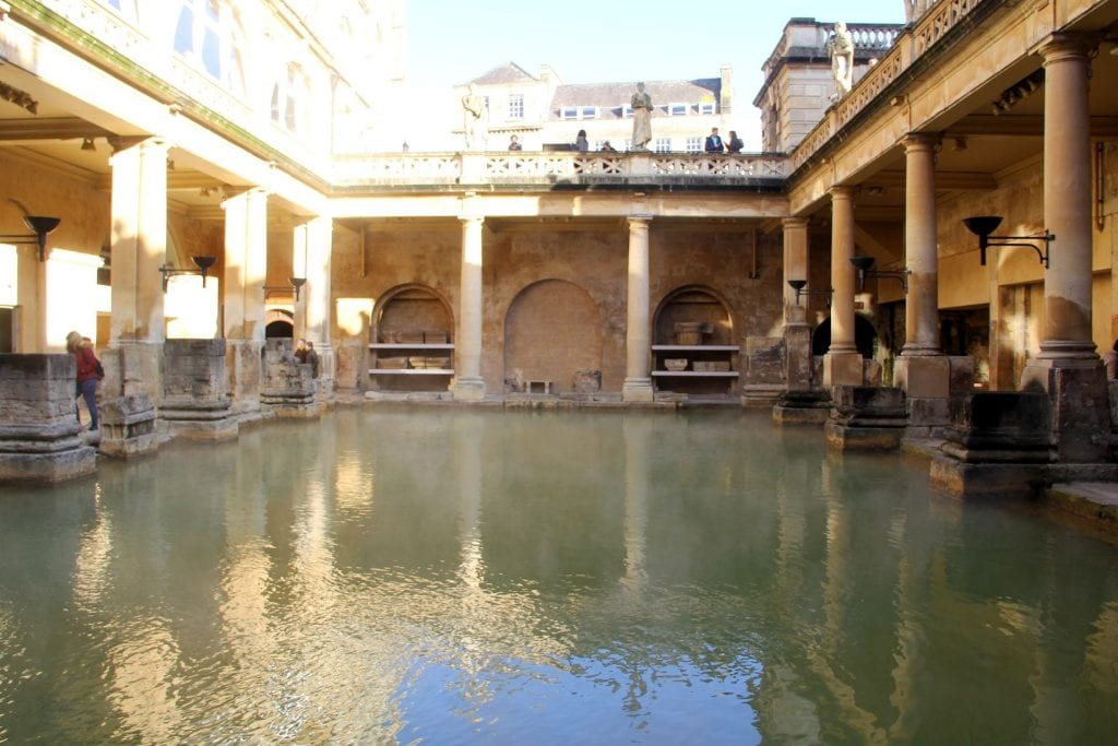 Bath Römische Bäder 3