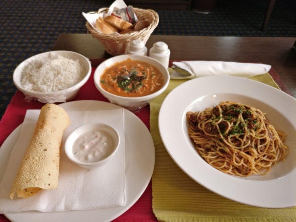 Best Western Premier Muscat Dinner