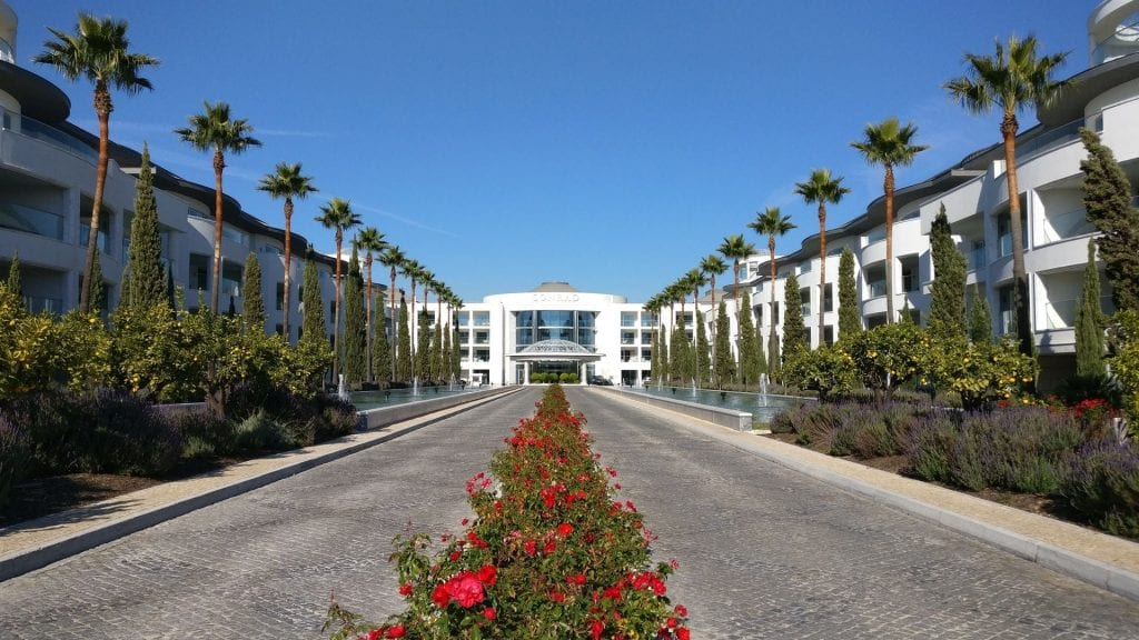 Conrad Algarve Entrance