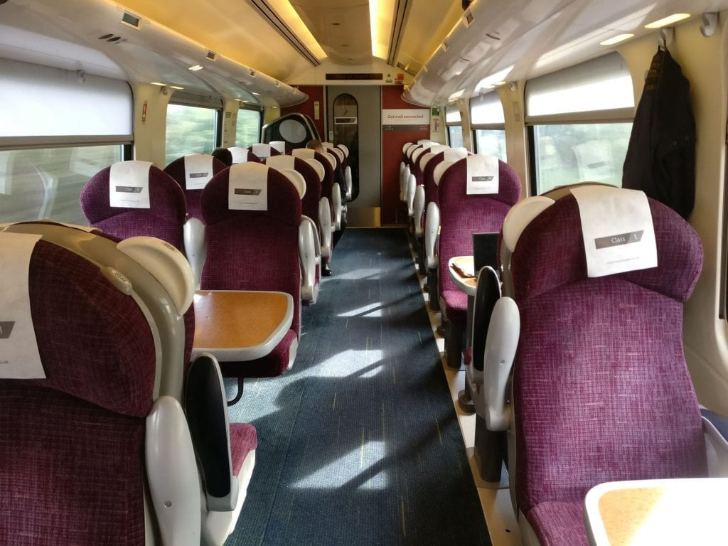 CrossCountry First Class Seats 8