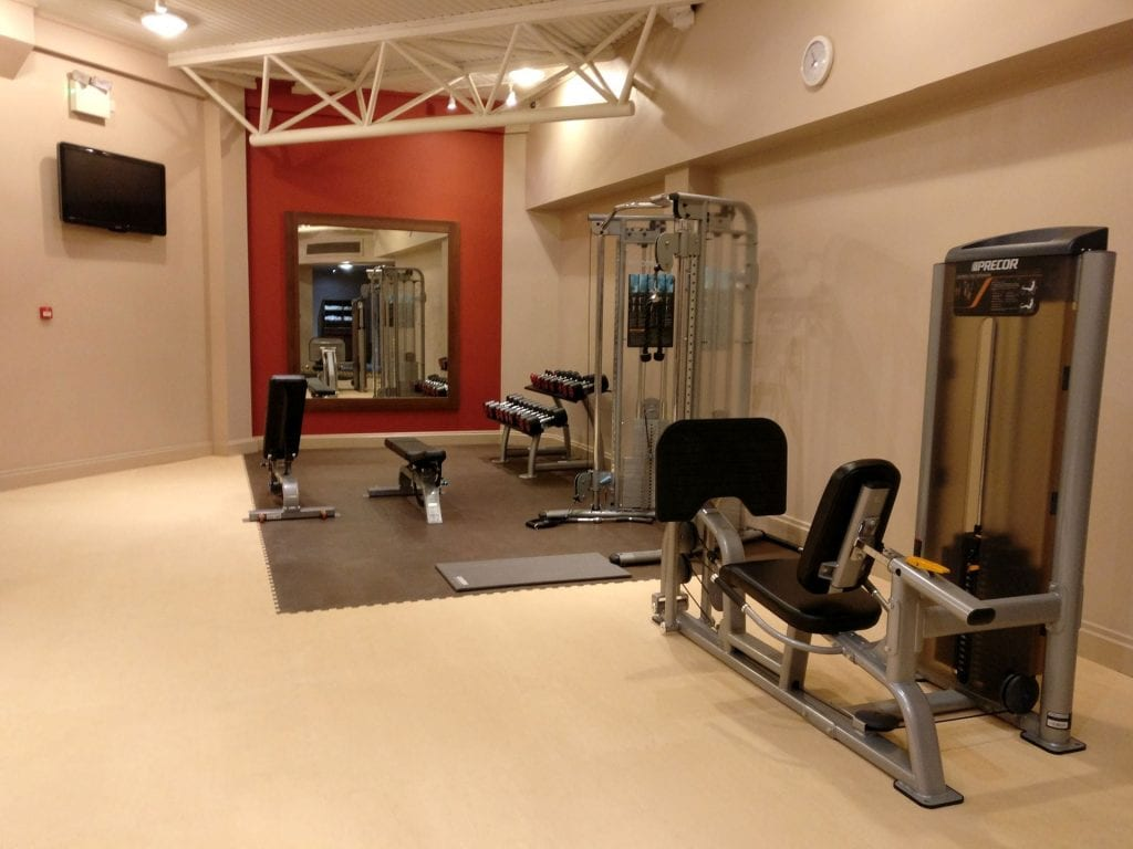Doubletree Bristol Queen Room Gym