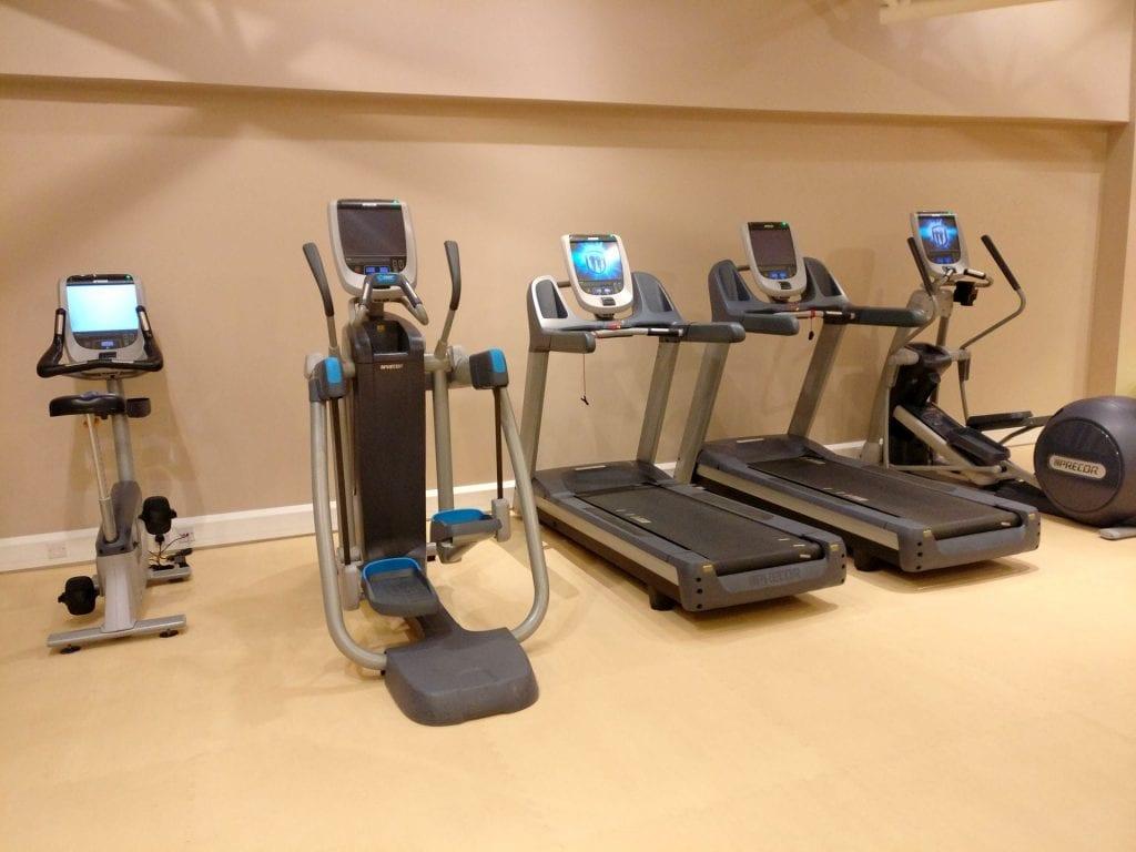 Doubletree Bristol Queen Room Gym 2