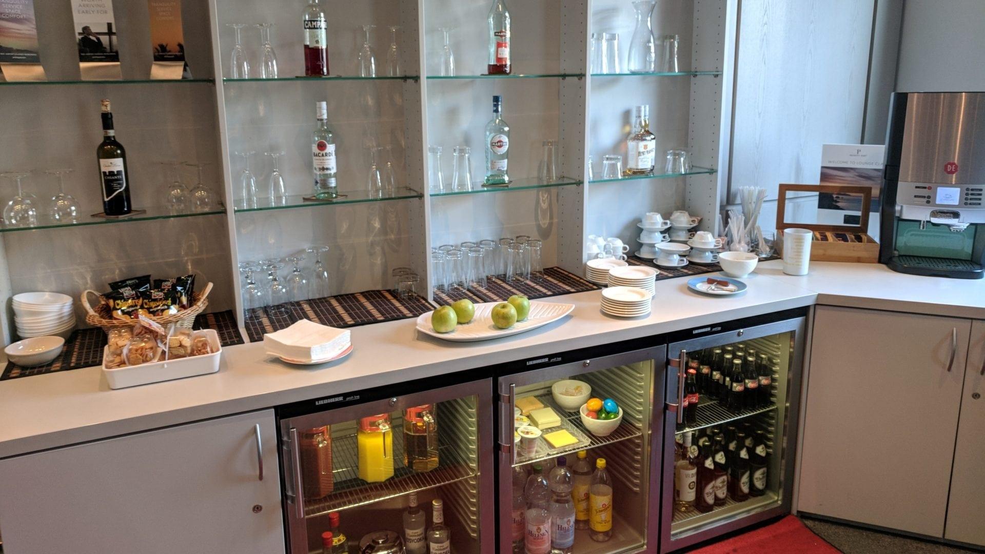 Elli Beinhorn Lounge Stuttgart Büffet