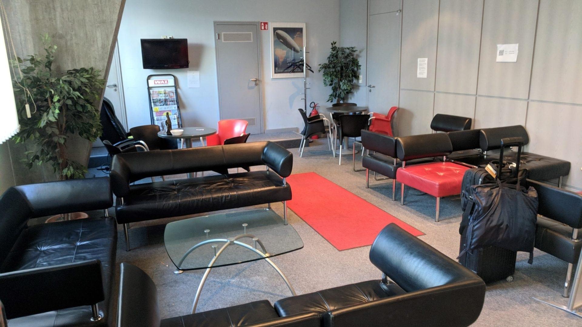 Elli Beinhorn Lounge Stuttgart Layout