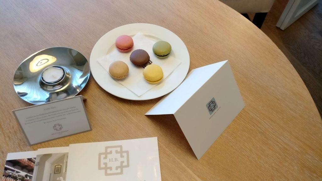 Heidelberg Suites Boutique Hotel Welcome Gift