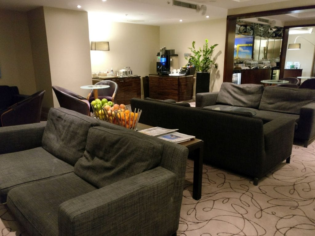 Hilton Belfast Executive Lounge