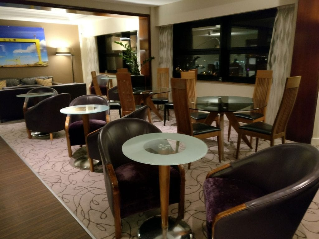 Hilton Belfast Executive Lounge 2