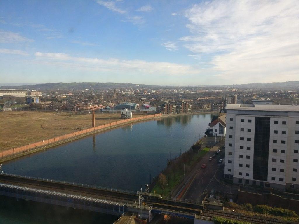 Hilton Belfast Executive Room View