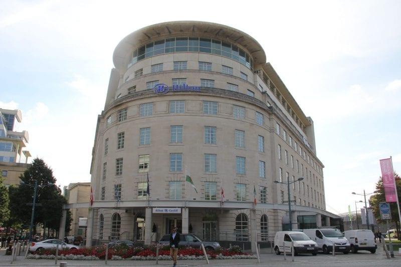 Hilton Cardiff Exterior