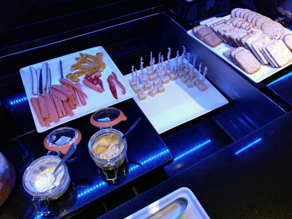 Hilton Cardiff Lounge Dinner