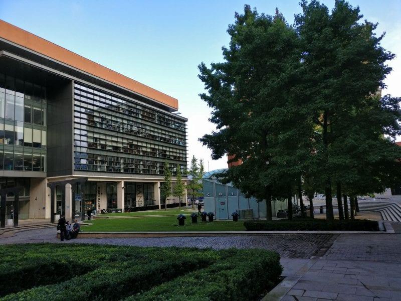 Hilton Garden Inn Birmingham Brindleyplace Lage