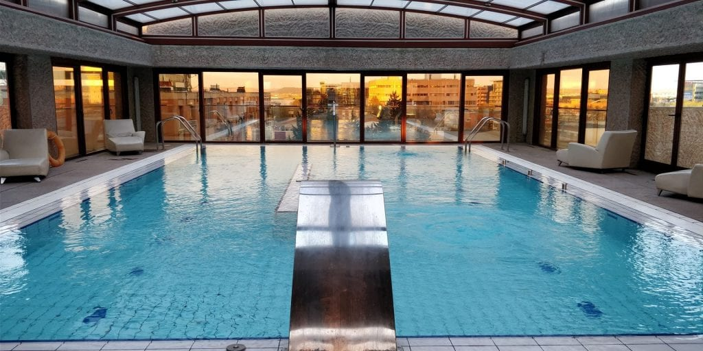 Hilton Madrid Airport Fitness Pool