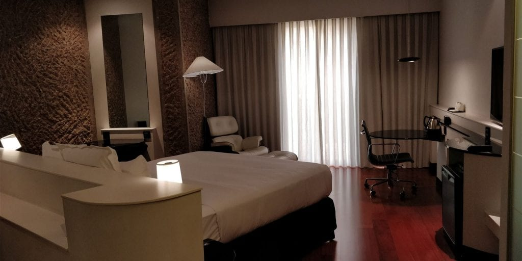 Hilton Madrid Airport Zimmer