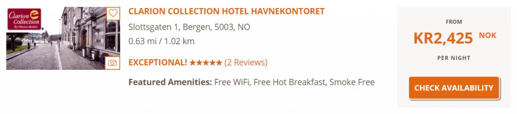 Hotel Havnekontoret Buchung 1