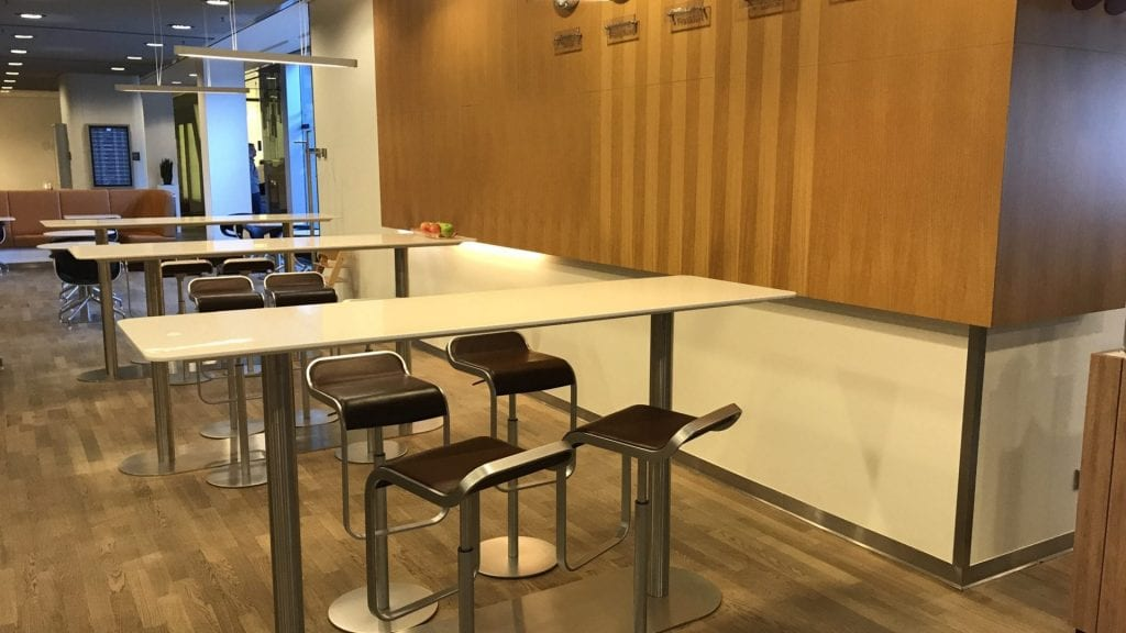 Lufthansa Senator Lounge Frankfurt Terminal 1B – Sitz 1