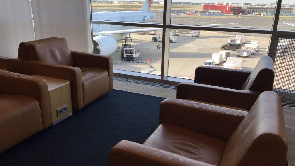 Lufthansa Senator Lounge Frankfurt Terminal 1B – Sitz 4