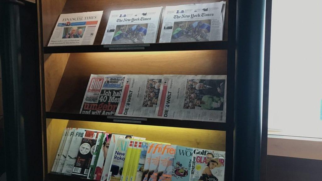 LuxxLounge Frankfurt Zeitschriften