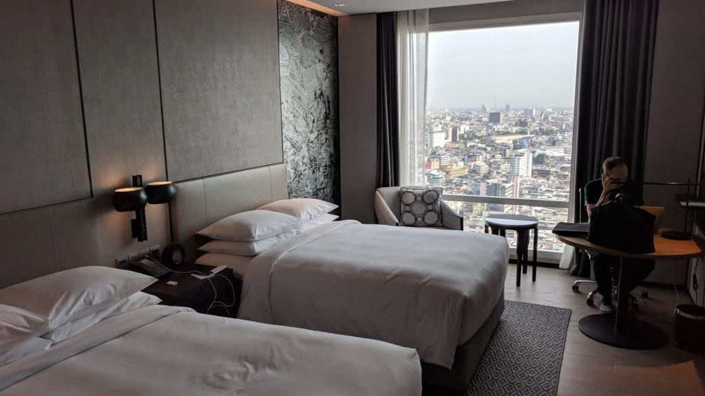 Marriott Bangkok The Surawongse – Zimmer Aussicht