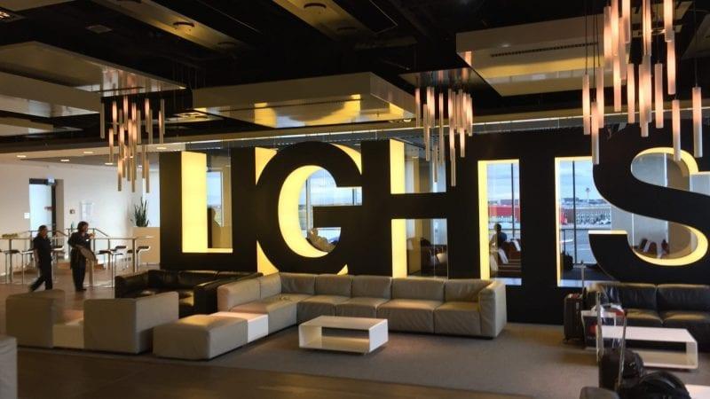 Sen Lounge Frankfurt Lights