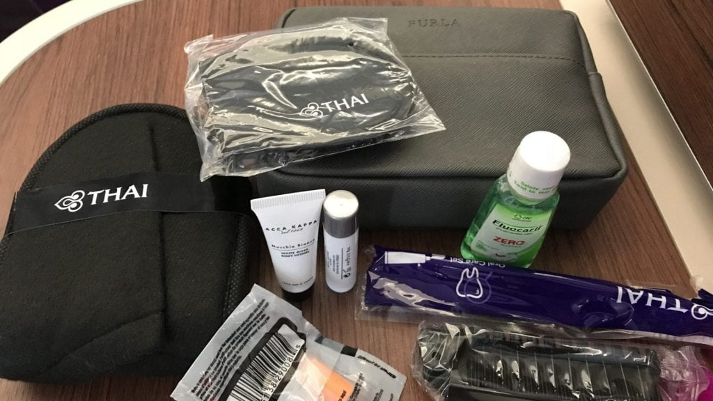 Thai Airways Business Class A350 - Amenity Kit