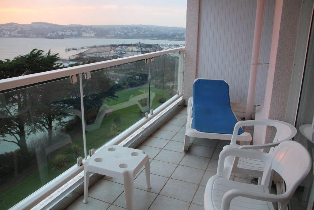 The Imperial Torquay Standard Sea Facing Room Balcony