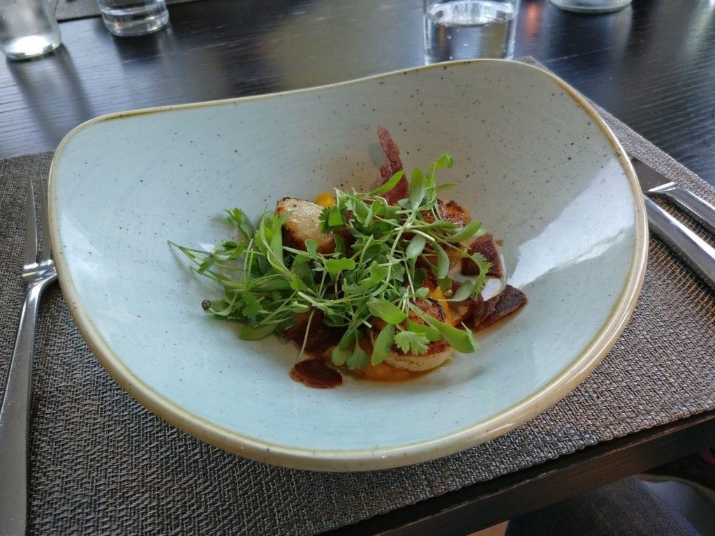 The Llawnroc Hotel Gorran Haven Dinner