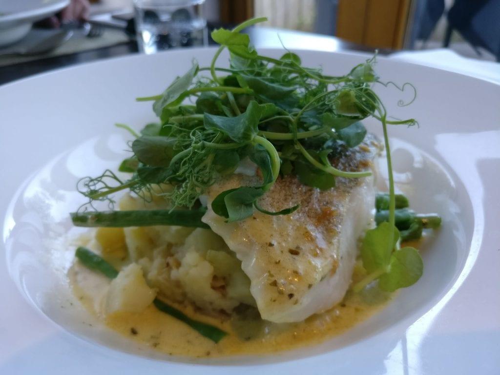 The Llawnroc Hotel Gorran Haven Dinner 2