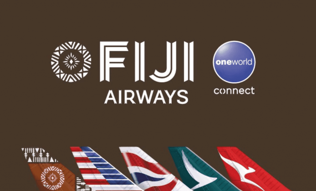 fiji airways oneworld connect