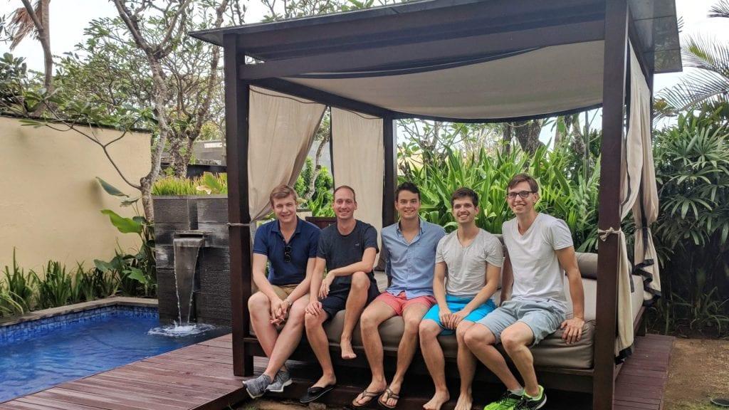 reisetopia Team auf Bali