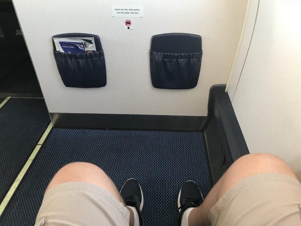 British Airways Business Class Kurzstrecke Beinfreiheit