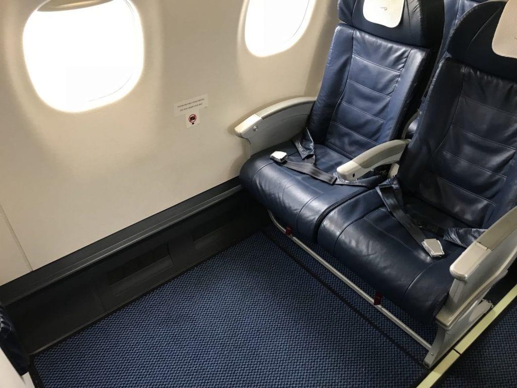 British Airways Business Class Kurzstrecke Sitz