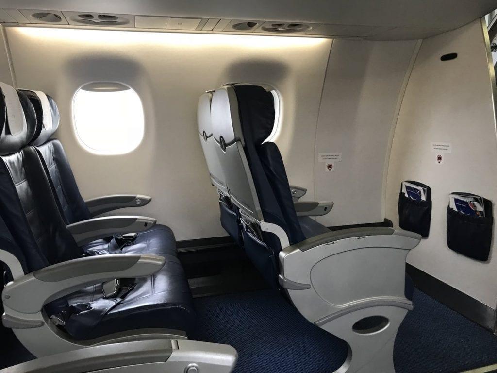 British Airways Business Class Kurzstrecke Sitz 2
