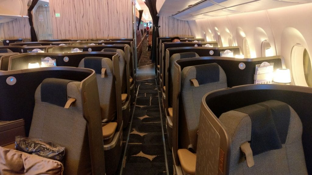 China Airlines Business Class Airbus A350