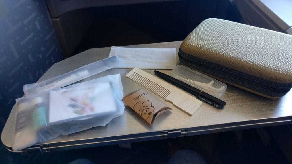 China Airlines Business Class Airbus A350 Amenity Kit 2