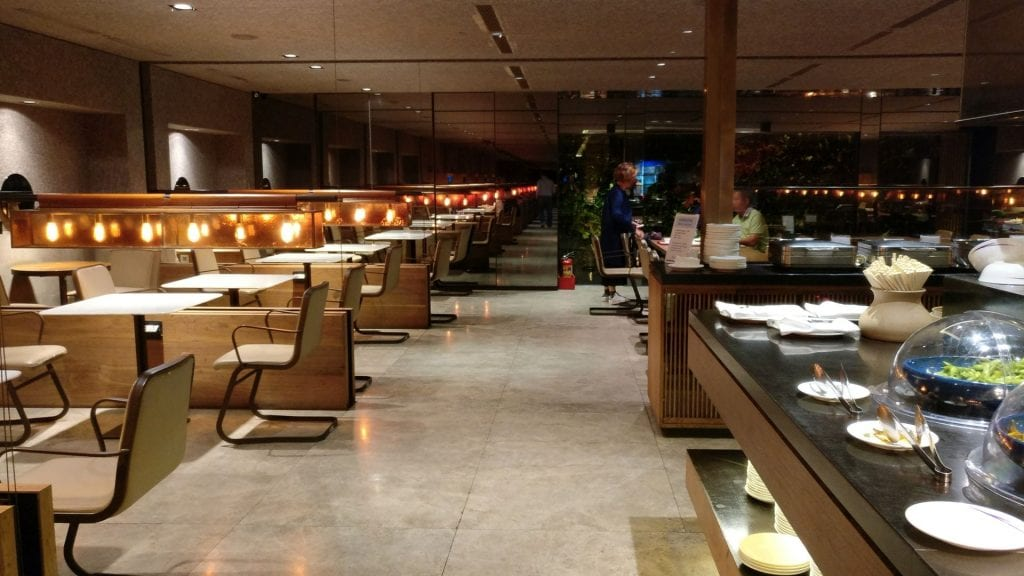 China Airlines Lounge Taipeh T1A 6