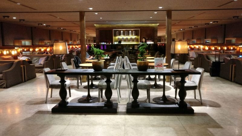 China Airlines Lounge Taipeh T1A
