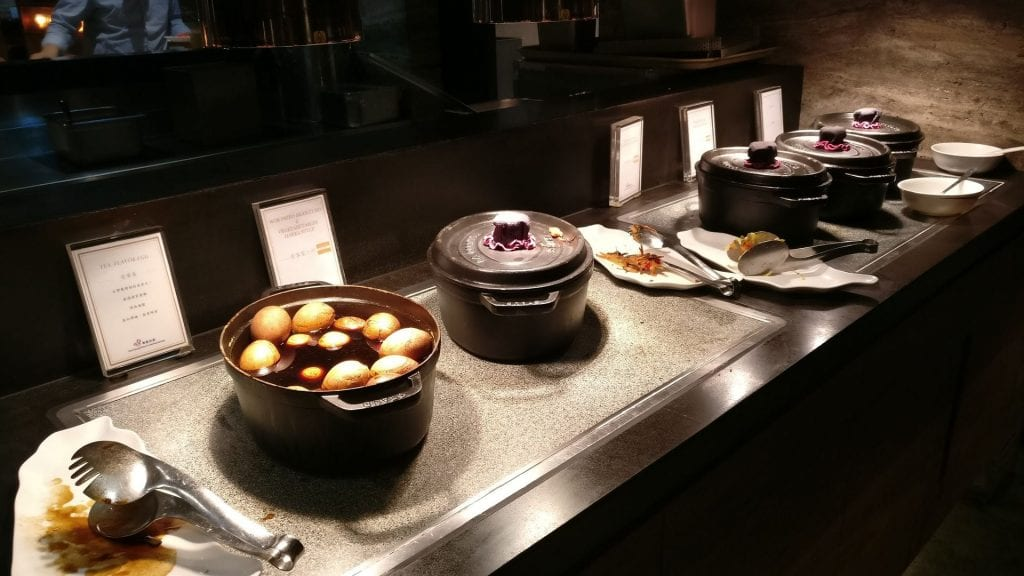 China Airlines Lounge Taipeh T1A Buffet 5