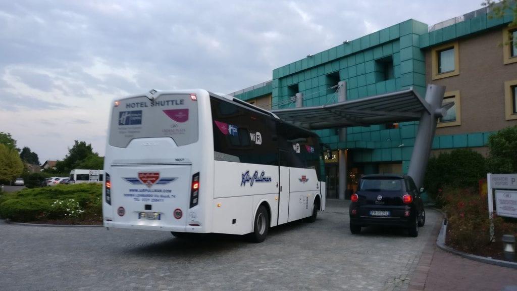 Crowne Plaza Mailand Malpensa Shuttle