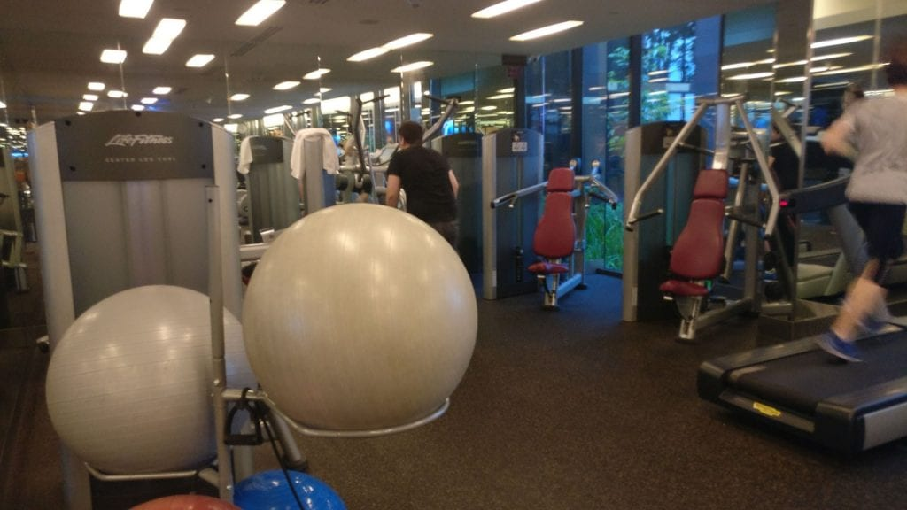 Crowne Plaza Singapur Changi Airport Fitness