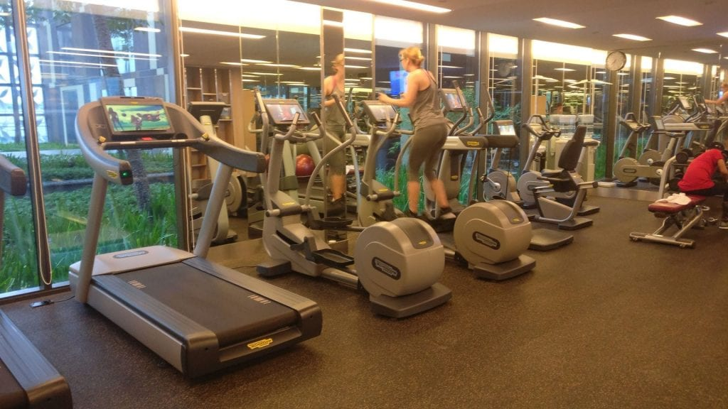 Crowne Plaza Singapur Changi Airport Fitness 2