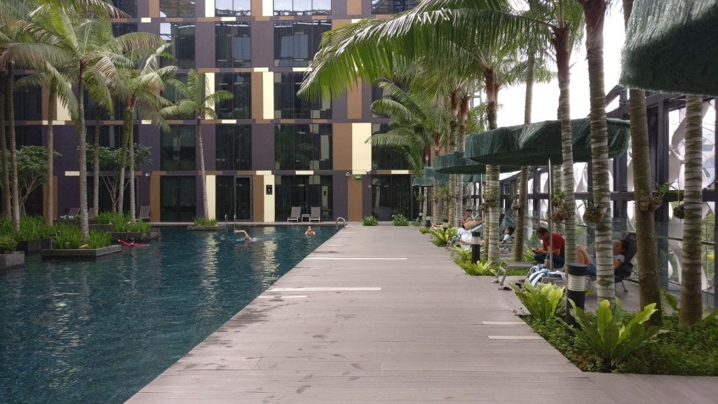 Crowne Plaza Singapur Changi Airport Pool