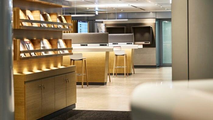 DB Lounge am Flughafen Frankfurt