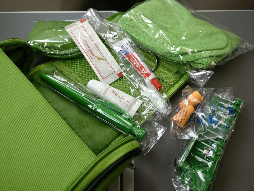 Ethiopian Airlines Business Class Boeing 787 Amenity Kit 2