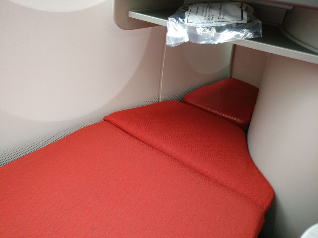 Ethiopian Airlines Business Class Boeing 787 Bed 3