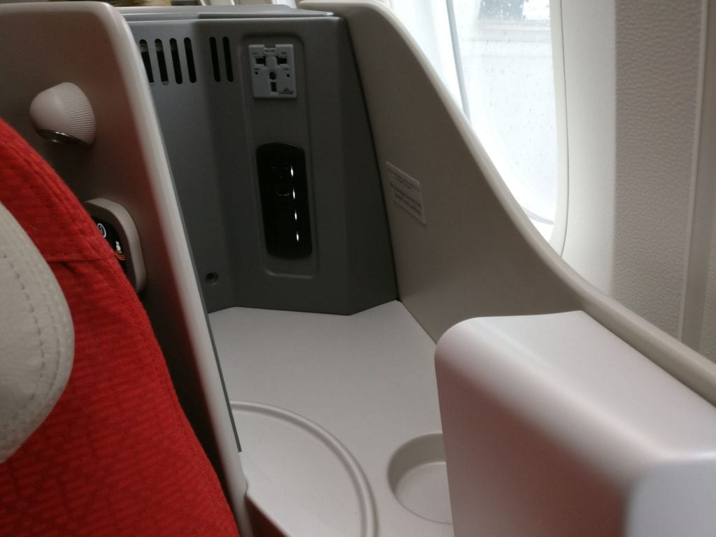 Ethiopian Airlines Business Class Boeing 787 Plug