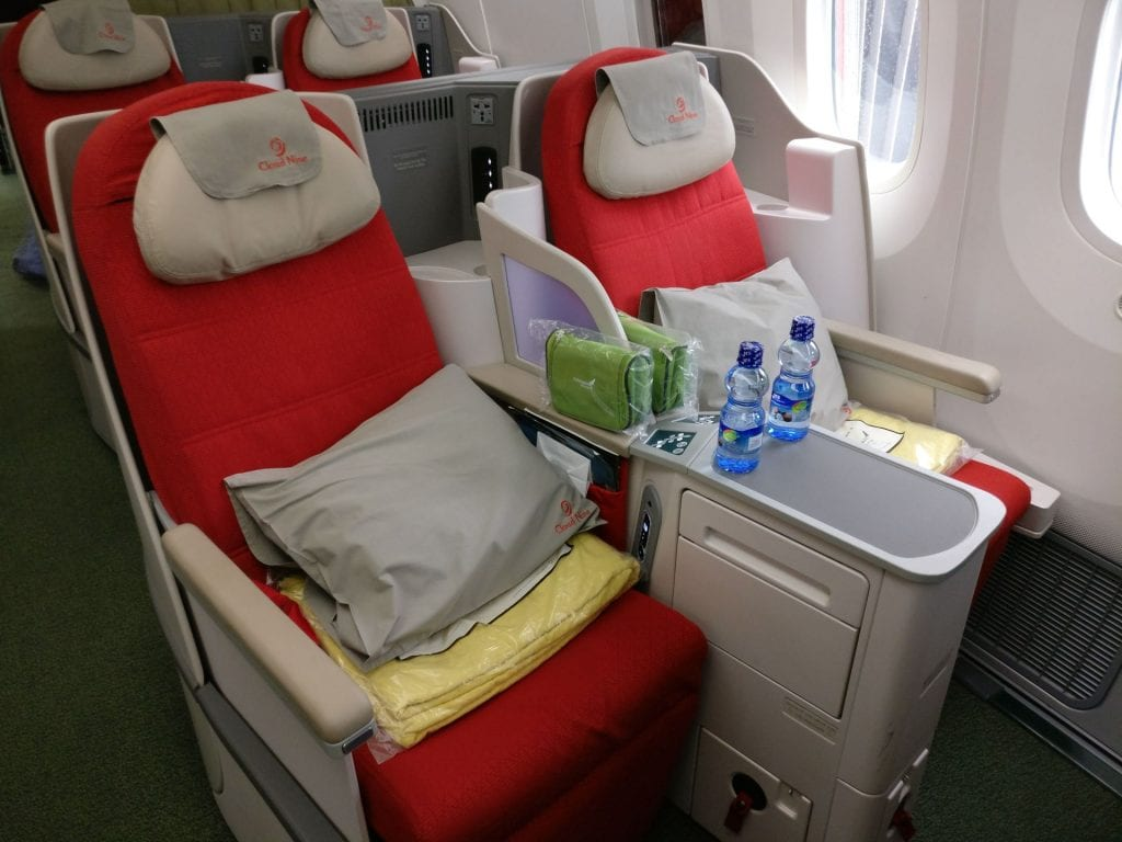Ethiopian Airlines Business Class Boeing 787 Seat 5
