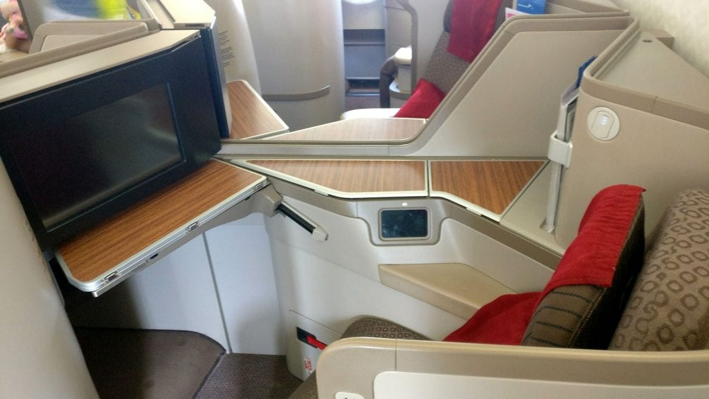 Garuda Indonesia Business Class Airbus A330 Sitz 2