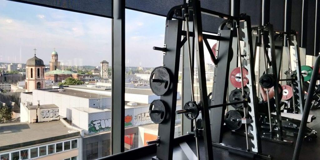 Jumeirah Frankfurt Fitness Hanteln