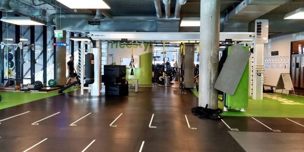 Jumeirah Frankfurt Fitness Raum