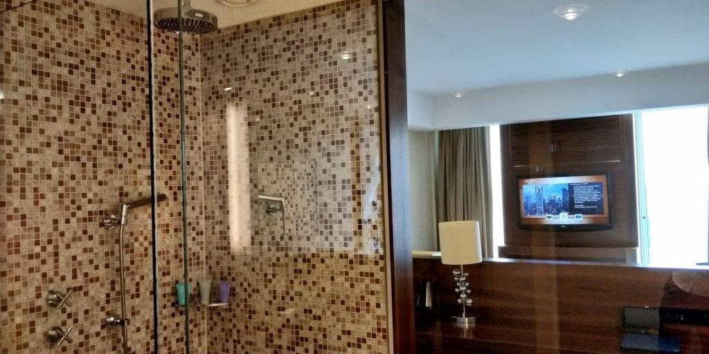 Jumeirah Frankfurt Zimmer Bad Dusche